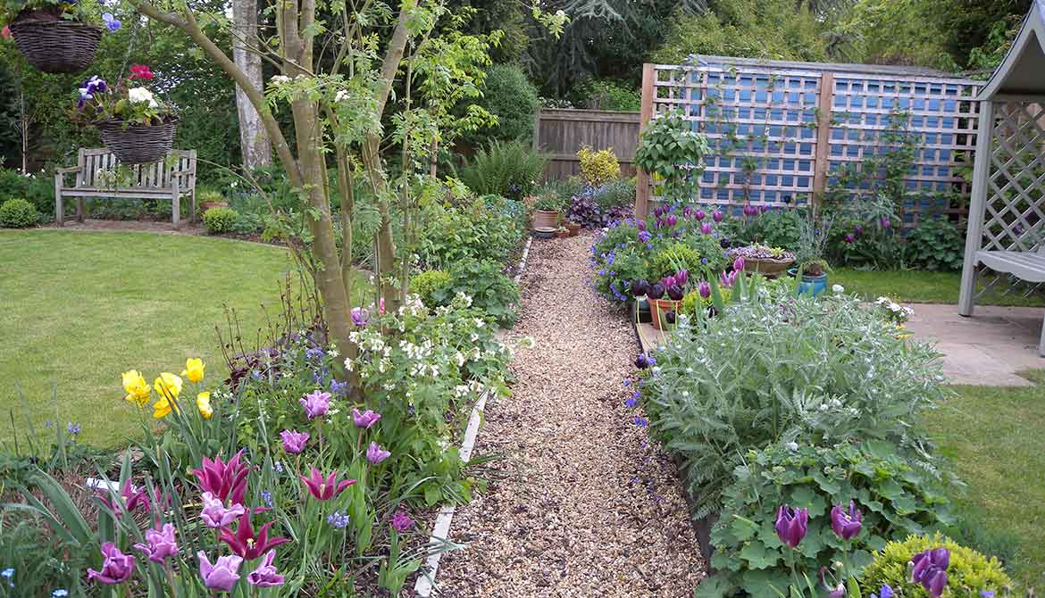 Traditional Garden Renovation In Norfolk Samantha McKay - Traditional garden design pictures