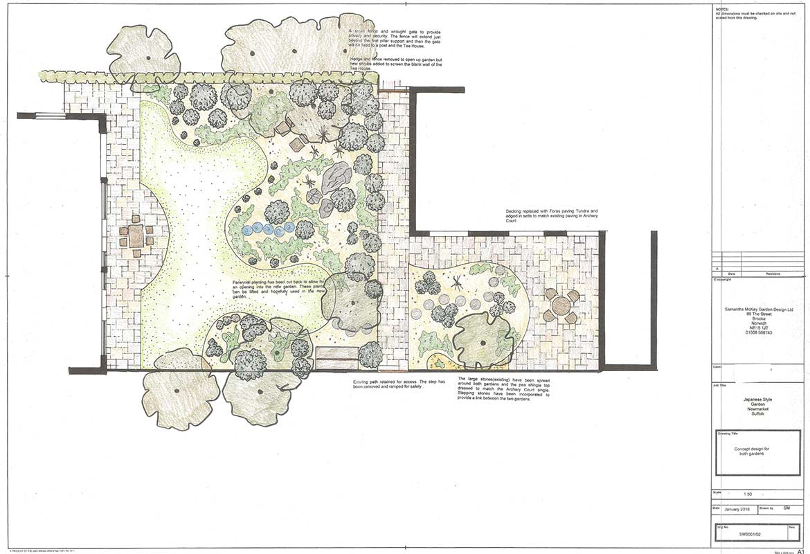 Design of a Japanese style garden in Newmarket, Suffolk | Samantha on japanese zen gardens, japanese painting drawing, christmas design drawing, japanese architecture drawing, french garden drawing, grapevine design drawing, zen design drawing, water design drawing, garden layout drawing, japanese art drawing, fountain design drawing, japanese bonsai drawing, japanese home drawing, japanese sculpture drawing, nature design drawing, japanese woman drawing, vineyard design drawing, love design drawing, landscape tree plan drawing, fruit design drawing,