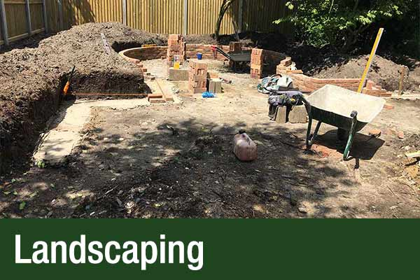 Landscaping for gardens in Norfolk and Suffolk